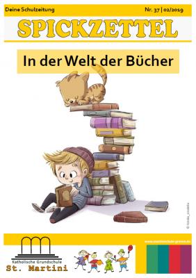 Bild der Meldung: Spickzettel - beste Schülerzeitung Westfalens