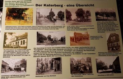 Beispiel Katerberg - so in etwa soll eine Tafel für die 875-Jahr-Feier aussehen.