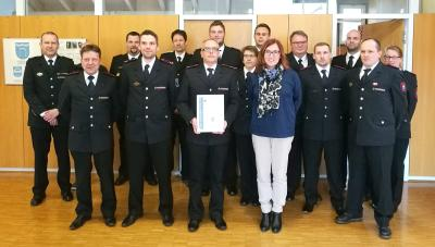 Bestätigung der Wahl und Bestellung von Herrn Ingo Seitz zum Kommandanten der Freiwilligen Feuerwehr Dettenheim