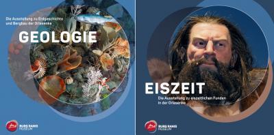 """Foto zur Meldung: Ausstellungskataloge """"Geologie"""" & """"Eiszeit"""""""