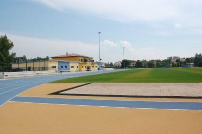 Das Bild zeigt den Sportpark Rosenstraße.