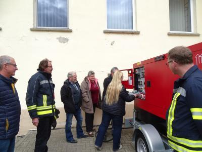 Vorschaubild zur Meldung: Ein Notstromaggegat für die Freiwillige Feuerwehr Kyritz
