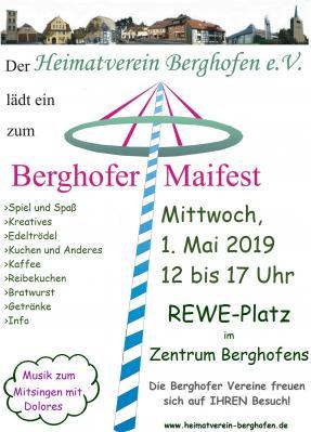 Foto zur Meldung: Berghofer Maifest