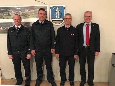 Vorschaubild zur Meldung: Markus Metzler als Stadtbrandinspektor wiedergewählt