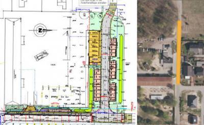 Foto zur Meldung: Bauen bei der Kita Fuchsbau