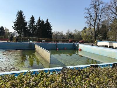 April 2019 - FFW Niemegk, Dahnsdorf, Haseloff Arbeitseinsatz Freibad