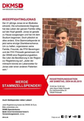Foto zur Meldung: Aufruf des Kreisfeuerwehrverband Prignitz e.V.: Lasst Euch registrieren