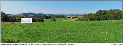 Vorschaubild zur Meldung: Passauer Oberland wird Öko-Modellregion