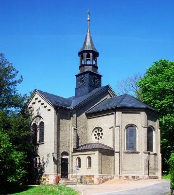 Kreuzkirche Lugau (Foto: Wolfgang Frech)