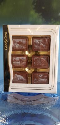 Schokoladen-Geschenk-Box mit Grünheider Motiven