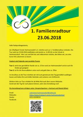 Vorschaubild zur Meldung: 1. Familienradtour