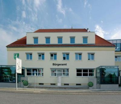 Unser Bild zeigt das Bürgeramt der Stadt Falkensee in der Poststraße 31.