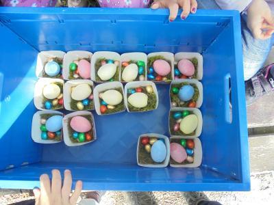Vorschaubild zur Meldung: Osterfeier im Pfarracker