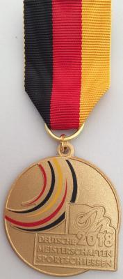 Gold Deutsche Meisterschaft