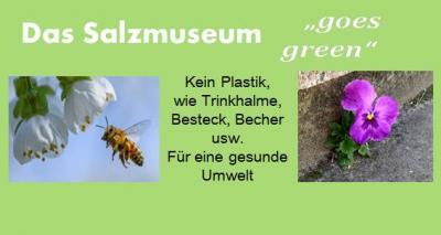 """Foto zu Meldung: Das Salzmuseum """"goes green"""""""