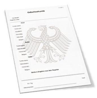 Foto zur Meldung: Urkunden online beantragen