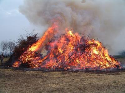 Vorschaubild zur Meldung: Allgemeinverfügung zur Gestattung von Brauchtumsfeuern anlässlich des Osterfestes im Amt Niemegk