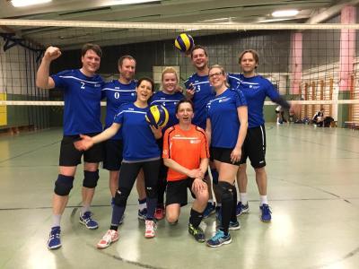 Foto zur Meldung: Heimspiel: SV Francke 08 Volley I vs. TSV Schwarz-Weiß Zscherben