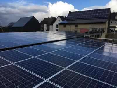 Foto zur Meldung: Entwicklung der Photovoltaik in Schnorbach