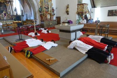Foto zur Meldung: Jesus Christus hat sich für uns hingegeben - Gründonnerstag und Karfreitag in Miltach
