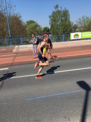 Foto zur Meldung: Comeback von Christian Gemke beim Paderborner Osterlauf