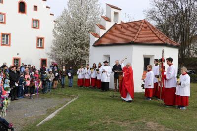 Foto zur Meldung: Palmsonntag in der Pfarrgemeinde festlich gefeiert