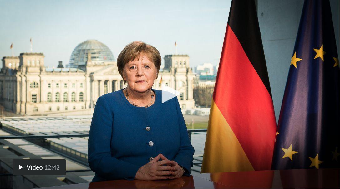 Ansprache Angela Merkel