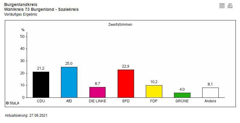 Ergebnis Wahlkreis 73