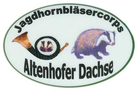 Emblem Jagdhornbläsercorps Altenhofer Dachse
