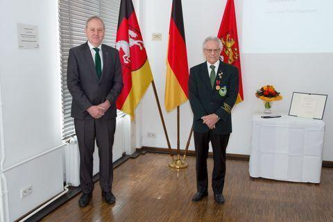 Verdienstmedaille des Verdienstordens für Hans-Theo Rappmund