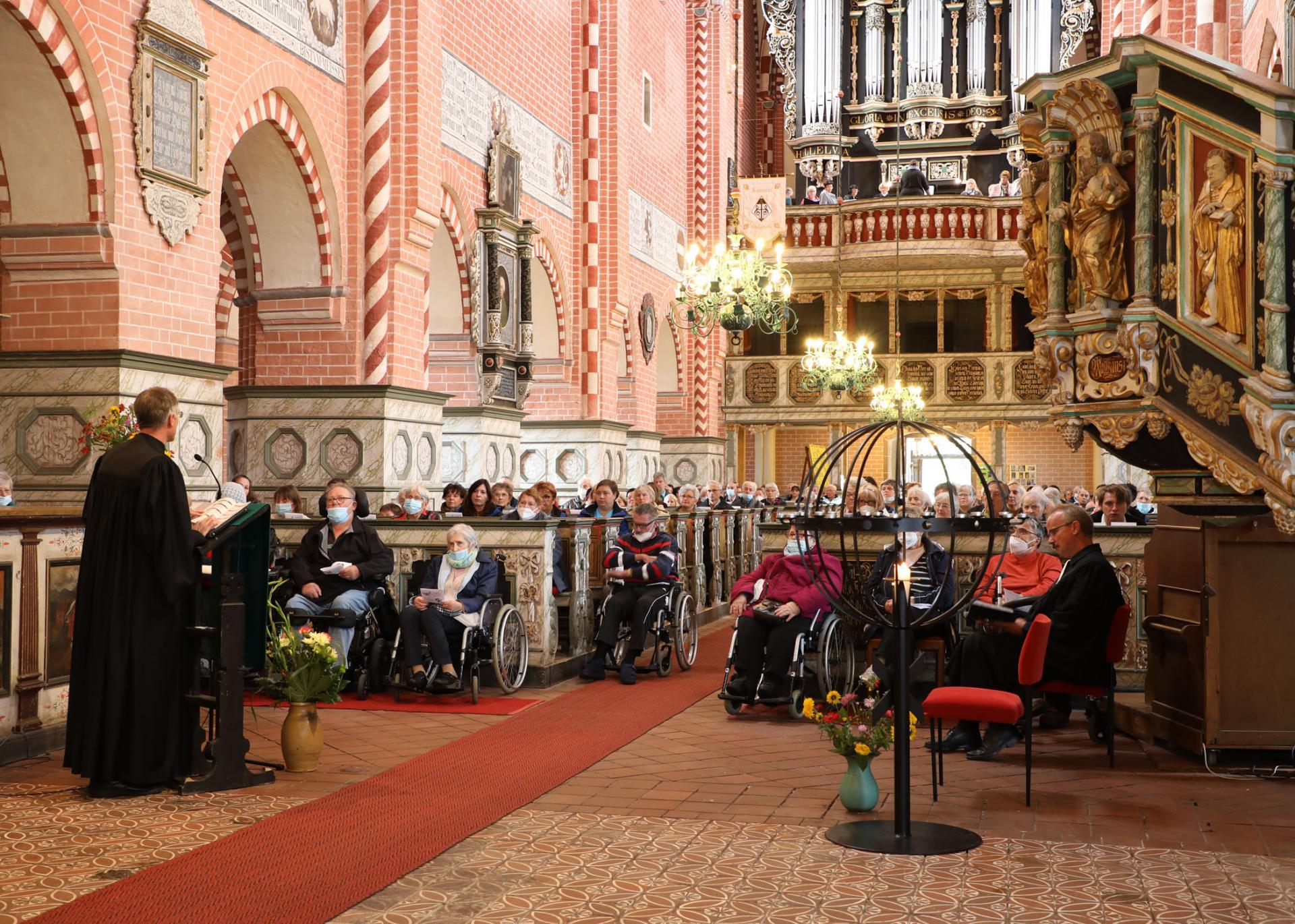 Klosterkirche Gottesdienst zum 30-jährigen Firmenjubiläum
