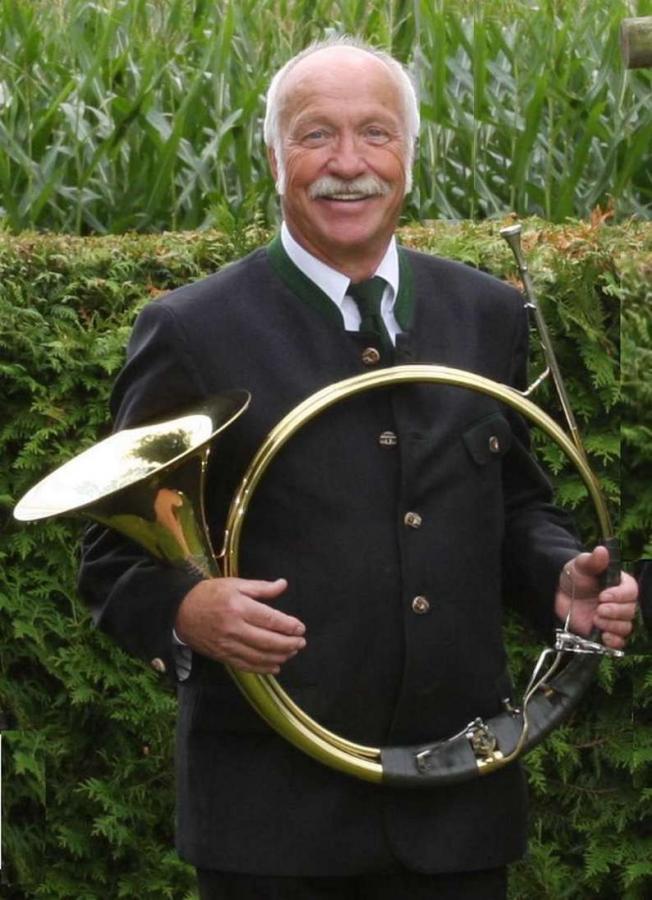 Musikalischer Corpsleiter Hans Goerg Lenkeit