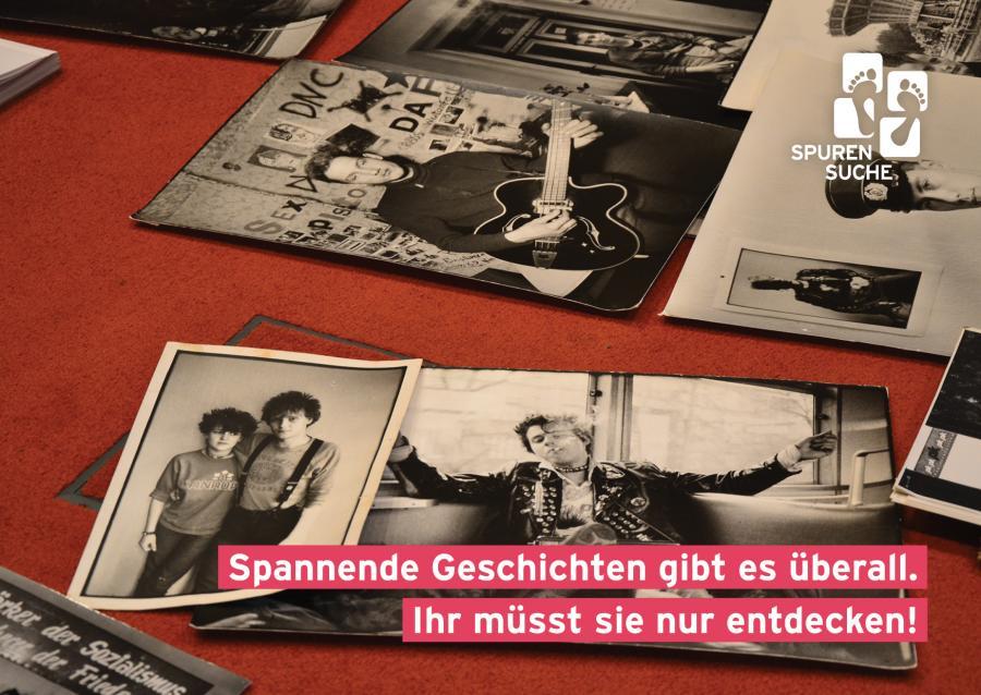 Jugendgeschichtsarbeit-Projekt-Spurensuche