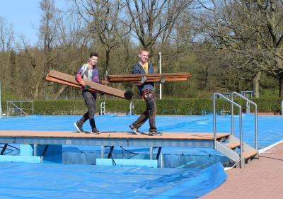 Foto zur Meldung: Bad Waldeck ist klar für die Saison