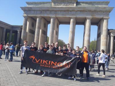 Foto zur Meldung: Die Junior Vikings erobern Berlin!