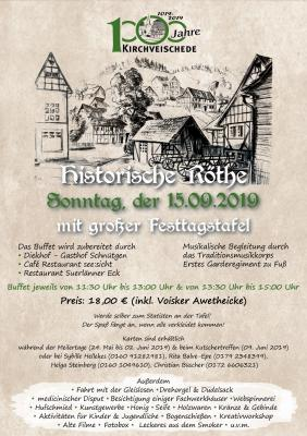 Plakat Festtagstafel