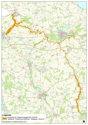 Vorschaubild zur Meldung: Ankündigung: Geländebegehungen und Aktualisierung natur-schutzfachlicher Erfassungen im Landkreis Nordwestmecklenburg