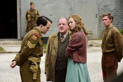 """Das Bild zeigt einen Ausschnitt aus dem Film """"Trautmann"""" Foto: Cine-Max"""