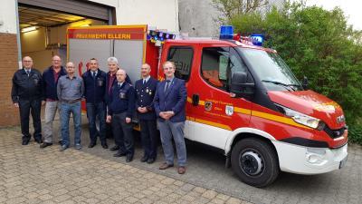 Foto zur Meldung: Großer Festabend bei der Ellerner Feuerwehr