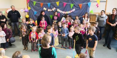 Vorschaubild zur Meldung: Frühlingsfest im Kindergarten war ein voller Erfolg