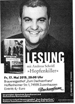 Lesung Andreas Schröfl