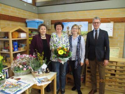 """Foto zur Meldung: Kita """"Pusteblume"""" Groß Twülpstedt - Gudrun Gebauer wird verabschiedet"""