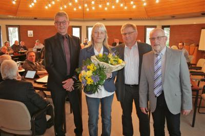 Foto zur Meldung: Carola Jacobs-Schütte bleibt weitere 5 Jahre Schiedsfrau