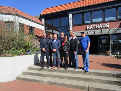 Foto zur Meldung: Neuer Vorstand der Werbegemeinschaft Samtgemeinde Velpke stellt sich vor