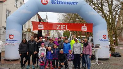 Foto zur Meldung: Der TSV Schleswig beim 31. Eckernförder Stadtlauf