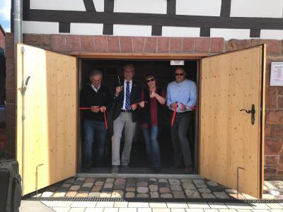 Vorschaubild zur Meldung: Neues Heimatmuseum Neudorf im alten Rathaus eröffnet