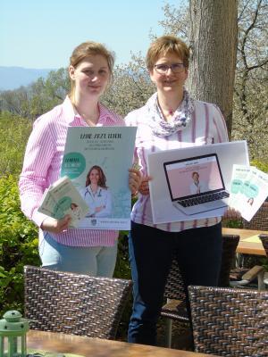 Jasmin Sieland und Anja Fett (Werra-Meißner-Kreis, Fachbereich Gesundheit)
