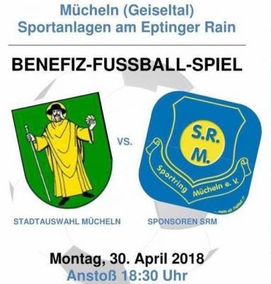 Vorschaubild zur Meldung: Fussball Stadtauswahl vs Sponsoren
