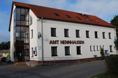 Vorschaubild zur Meldung: Vollsperrung der Ortsdurchfahrt Nennhausen wegen Straßenbauarbeiten