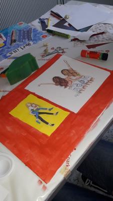 Foto zur Meldung: Mit der Kinder- und Jugendförderung gab es in den Osterferien viel Spaß und viel Kreativität